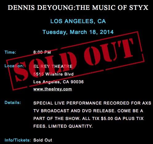 styx discography blogspot